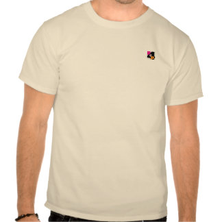 Mens Beige P4P Logo Tee-Shirt Tees