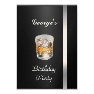 Men's Birthday Party  Invitation