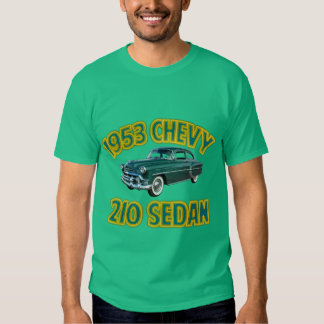 Men's Black 1953 Chevy 210 T Shirt