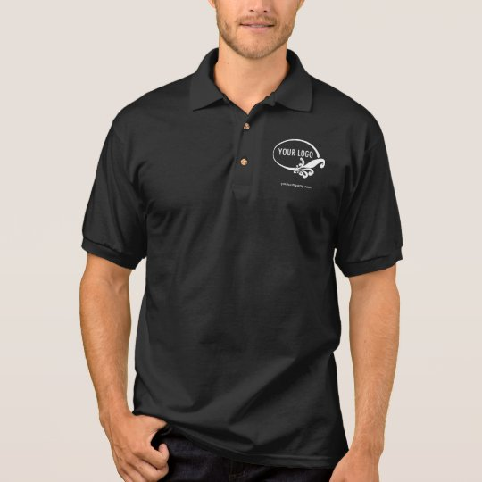 Men S Nike Dri Fit Custom Logo Business Polo Shirt Zazzle Co Uk