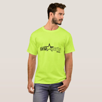 Mens Black Corsa Star Logo T-Shirt