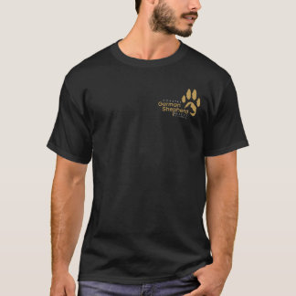 Men's Black/Gold Logo - Coastal GSR T-Shirt
