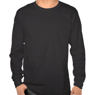 Men's Black Long Sleeve Zombie Monkey Shirt