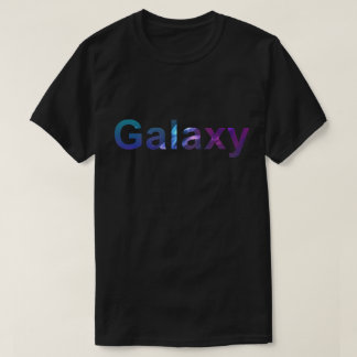 Mens black t-shirt 'Galaxy'