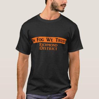Men's Black T with Orange Logo T-Shirt