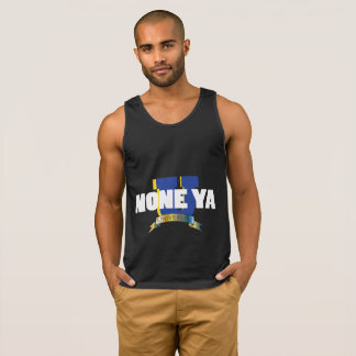 Men's Blk None Ya University Tank