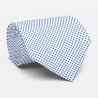 Men's Blue Polka Dot Tie