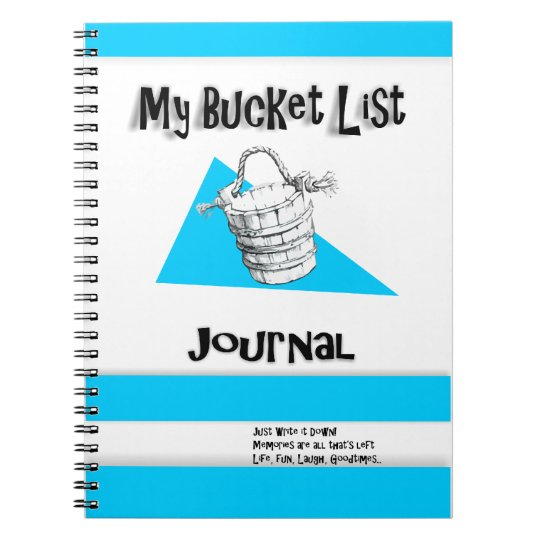 Men's Bucket List Journal Notebook