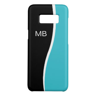 Mens Business Monogram Design Case-Mate Samsung Galaxy S8 Case