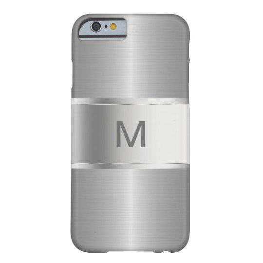 Men's Business Monogram Smartphone Barely There iPhone 6