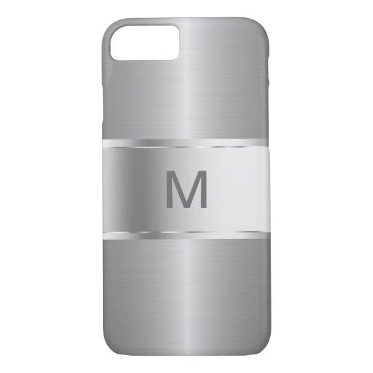 Men's Business Monogram Smartphone iPhone 8/7 Case