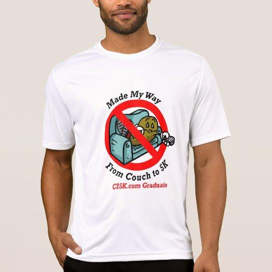 Mens C25K Graduates Micro Fibre T-Shirt