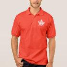 Men's Canada Flag Polo Shirt Personalised Shirt