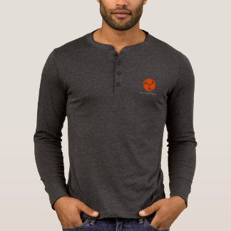 Men's Canvas Henry long sleeve shirt