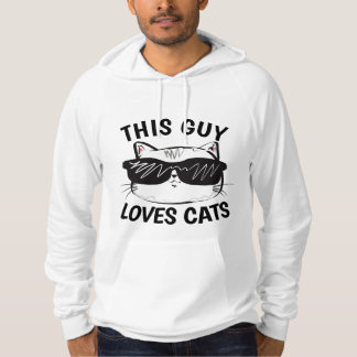 MEN'S CAT LOVER T-shirts, CAT DAD Hoodie