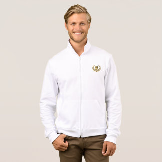 Mens Champion Long Sleeve White Sweater