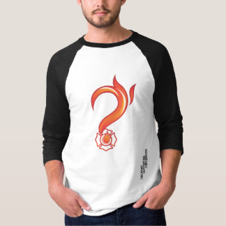 Mens Classic 3/4 sleeve baseball FireWhat t-shirt