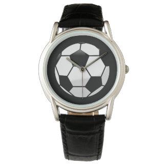 Mens Classic Watch/Soccer Ball Wrist Watch