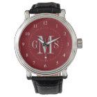 Men's Classy Personalised Monogram Watch