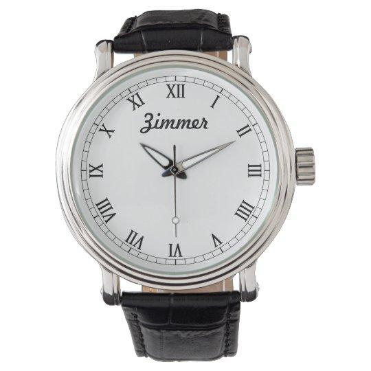 Men's Classy Personalised Watch
