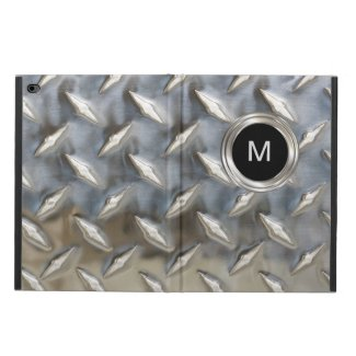 Men's Cool Monogram Style iPad Case