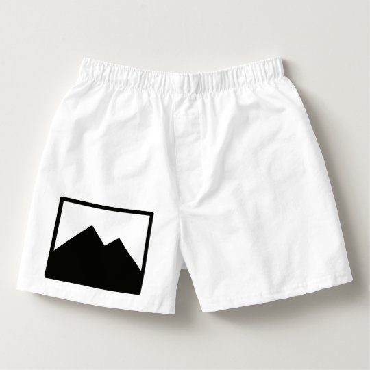Men's Cotton Boxers Template
