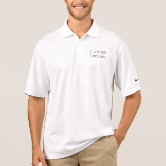 Men's Custom Nike Dri-FIT Pique Polo Shirt Blank