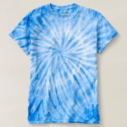 Men's Cyclone Tie-Dye T-Shirt, Royal