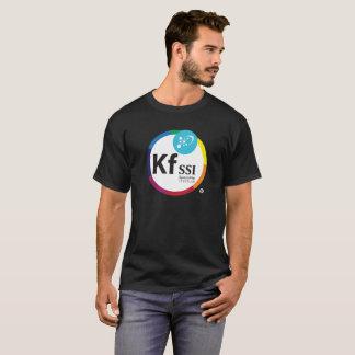 Mens Dark Cotton T-Shirt with KFSSI Logo