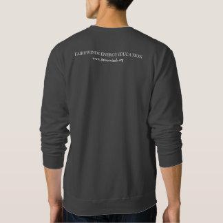 Men's Dark Grey Radiation Symbol Sweatshirt