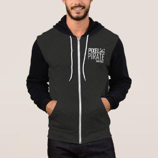 Men's Dark Zip Sweatshirt - Pixel Pirate Games