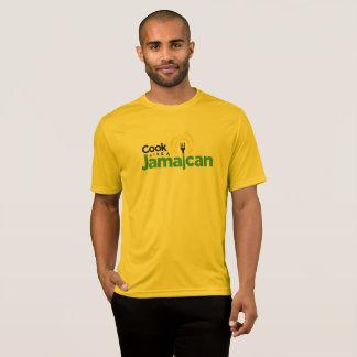Men's Deep Yellow Cotton T-Shirt