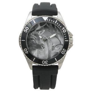 Men's Deer Stainless Steel Watch