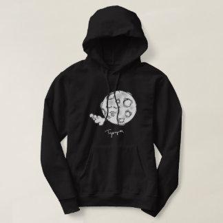 Men's Dream Dust Moon Basic Hooded Sweatshirt