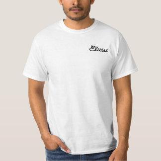 Men's Elitist T-shirt: Small Logo (black/white) T-Shirt