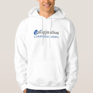 Men's Emagination Computer Camp Logo (color) Hooded Pullovers