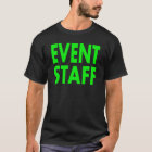 Men's Event Staff Shirt. T-Shirt