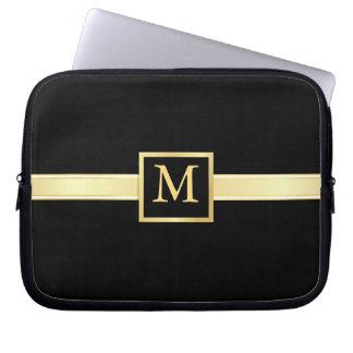 Men's Executive Style Monogram Laptop Skin Laptop Sleeve