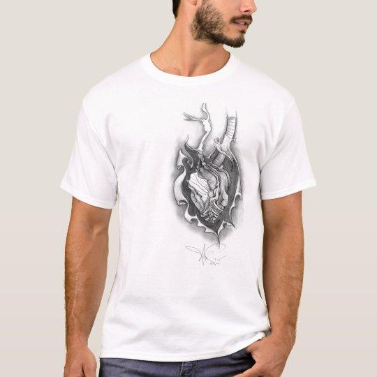 Mens Exposed Heart Tee