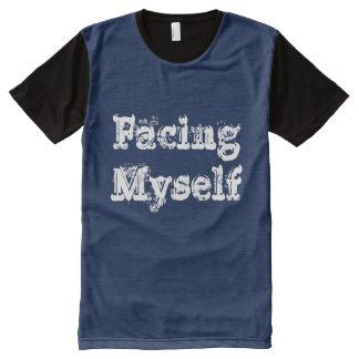 Men's facing myself tshirt