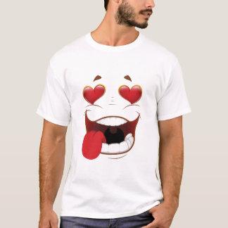 Men's Falling In Love Face T-Shirt