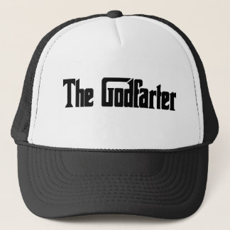 "Men's Fart Humor Gifts ""The Godfarter"" Trucker Hat"