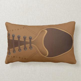 Men's Fashion Modern Brown Leather Shoe Pillow Cushions