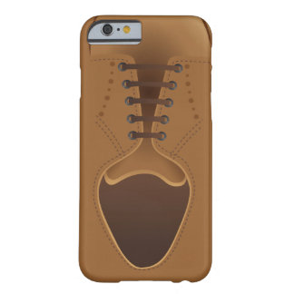 Men's Fashion Modern Brown Shoe Barely There iPhone 6 Case