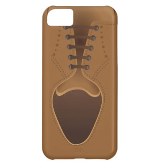 Men's Fashion Modern Brown Shoe iPhone 5 C  Case Cover For iPhone 5C