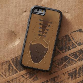 Men's Fashion Modern Brown Shoe Tough Xtreme iPhone 6 Case