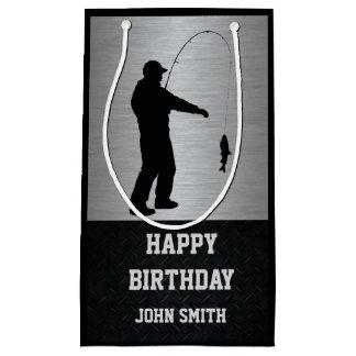Men's Fishing Themed Happy Birthday Gift Bag