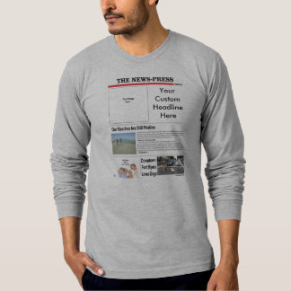 Men's Fitted Long Sleeve T-Shirt