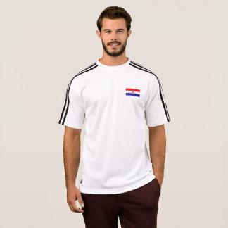 Mens Flag of Croatia T-Shirt