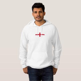 Mens Flag of England Hoodie